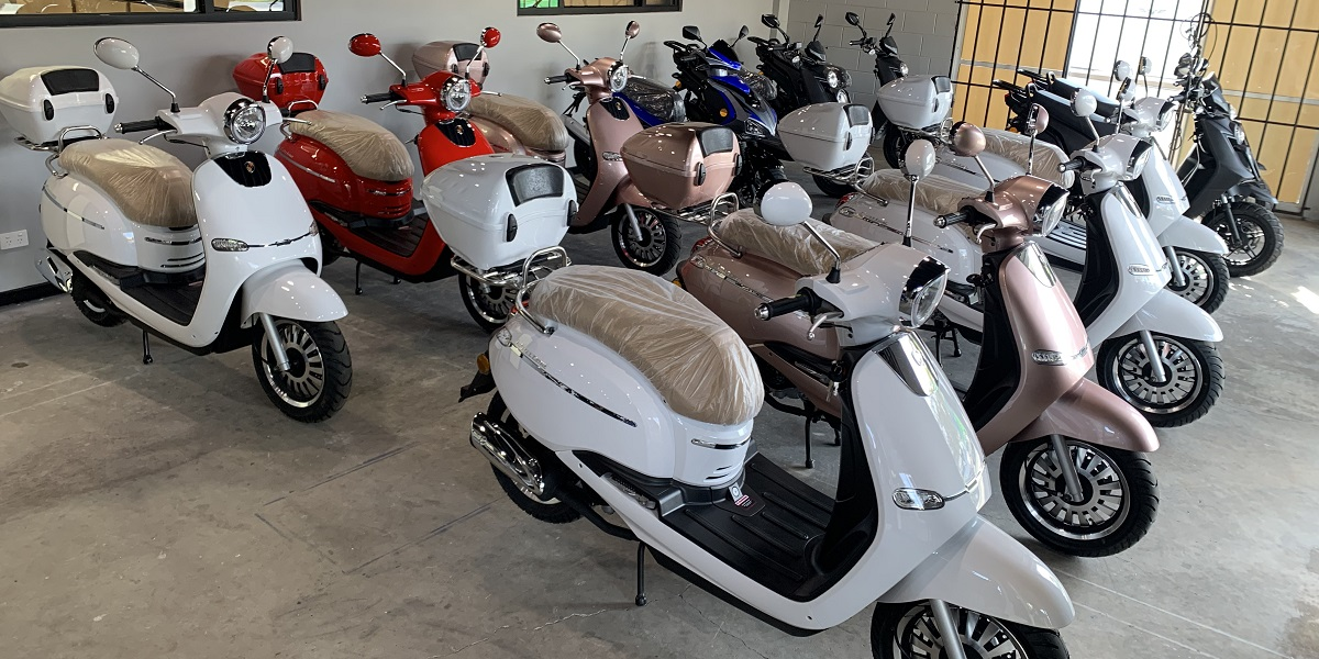 Znen Cruise Scooters Heading to Byron Bay | Wingman Motor Group | On & Off Road Vehicle Specialists Gold Coast Australia | 07 5522 0223